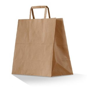 Symbio Brown Kraft Takeaway Bag